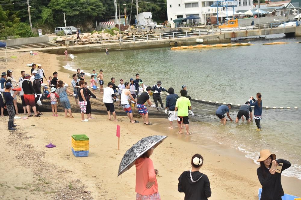 姫路の男鹿島(たんがしま)でBBQ!マリンスポーツ 地引網を堪能! | 福利厚生