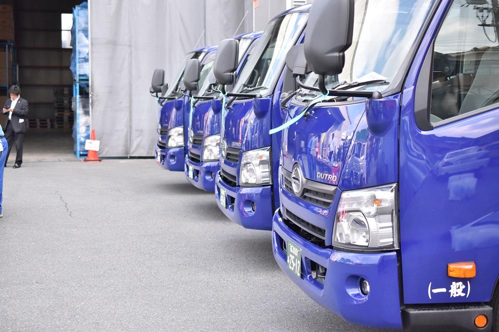 6台新車が納車されました | ビジネスジャパンエキスプレス