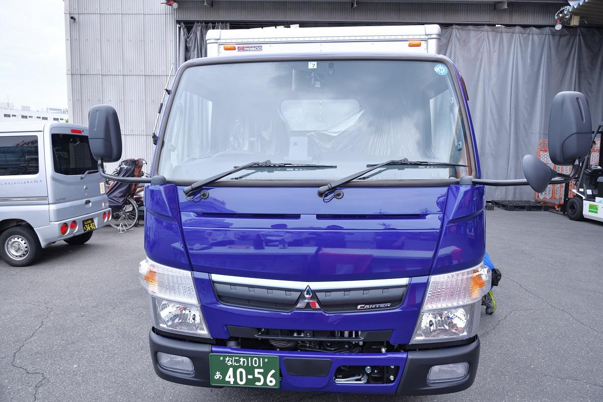 2tショートトラック納車式 三菱ふそう社